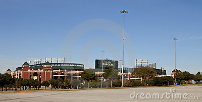 Rangers Ballpark in Arlington Editorial Stock Photo