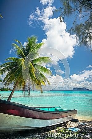 Free Rangiroa Atoll, French Polynesia Royalty Free Stock Image - 63792726