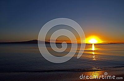 Rangitoto Island at Dawn