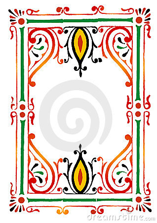 Rangoli Border Royalty Free Stock Photo - Image: 9425035