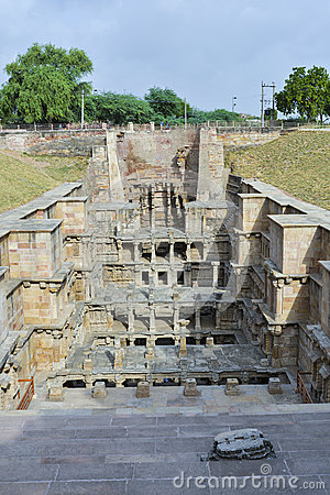 Rani-ki-Vav , an 11th century stepwell in Gujarat, has been approved as a World Heritage Site Editorial Photo