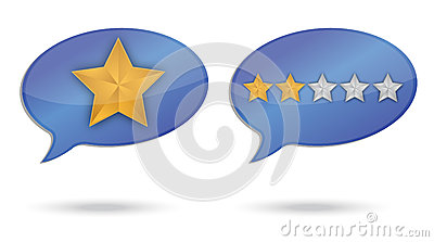 Ranking quality message illustration design