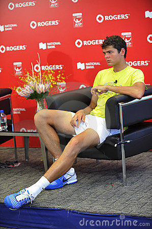 Raonic Milos new Canadian star (57) Editorial Photo