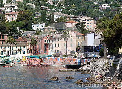 Rapallo in Italy Editorial Photo