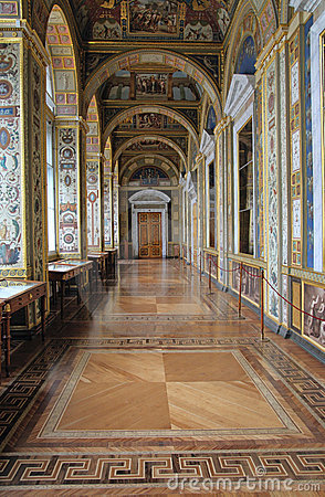 The Raphael Loggias. State Hermitage Editorial Photography