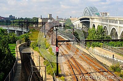 Rapid transit tracks