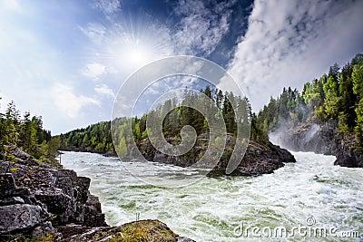 Rapids del río