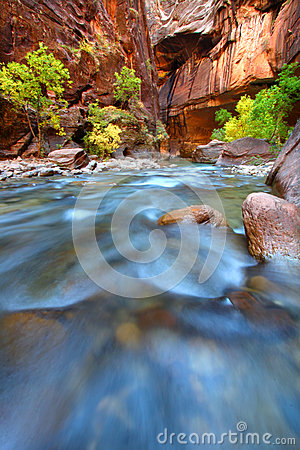 Rapids of the Virgin River Narrows