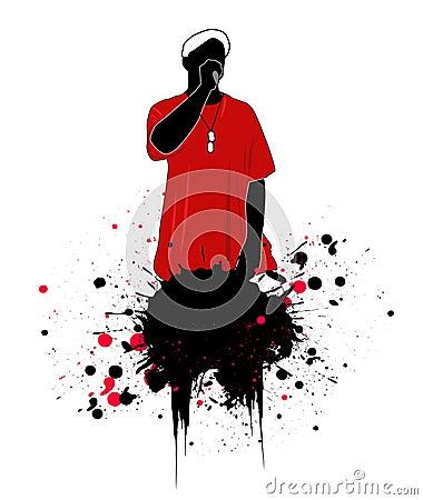 Rapper  illustration