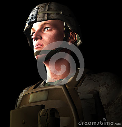 Soldato 3d