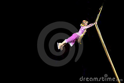 Rapunzel dances in Disney on Ice Editorial Photo