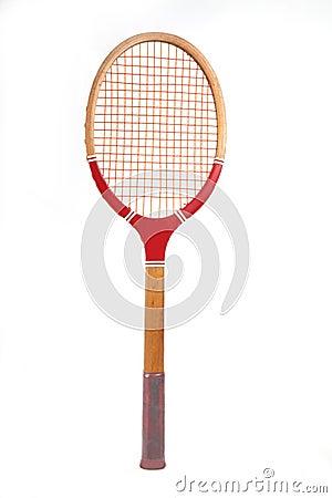 raquette de tennis en bois de cru image libre de droits image 8493386. Black Bedroom Furniture Sets. Home Design Ideas