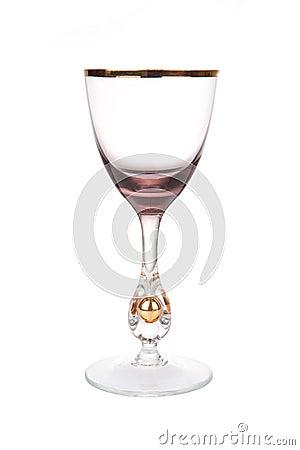 Rare antique wine glass