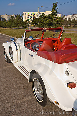 Free Rare Excalibur Cabrio Roadster Stock Photography - 4615502