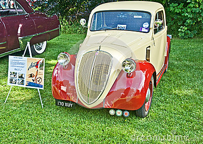 Rare Fiat 500A Topolino Editorial Photography