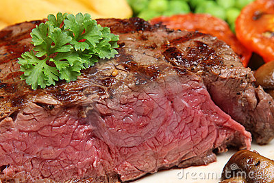 Rare Fillet Steak