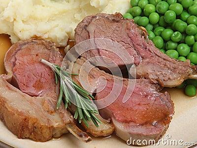 Rare Lamb Cutlets