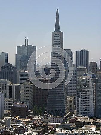 Rascacielos Foto editorial