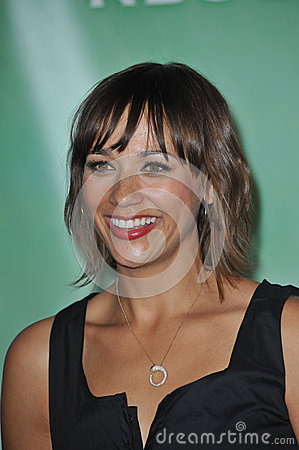 Rashida Jones Editorial Stock Photo