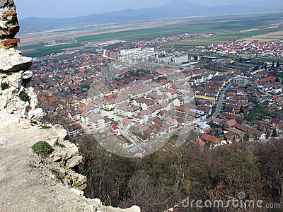 Rasnov city