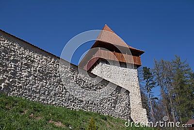 Rasnov fortress Stock Photo