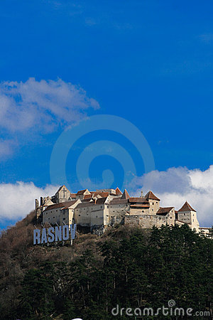 Free Rasnov Fortress,fortified Castle, Romania Royalty Free Stock Photos - 13768028