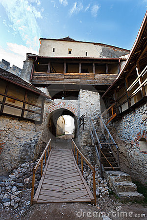 Free Rasnov Fortress In Romania Royalty Free Stock Images - 16886809