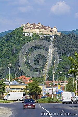 Free Rasnov Fortress, Transylvania Romania Royalty Free Stock Photos - 55687658