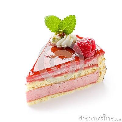 Free Raspberry Cake Royalty Free Stock Images - 8202809