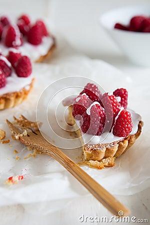 Raspberry frangipane