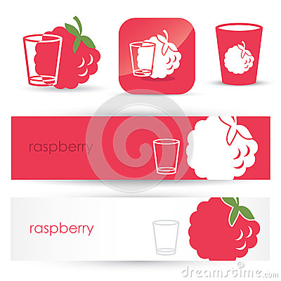 Raspberry headers and signs
