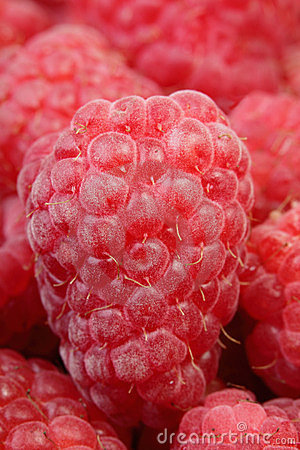 Raspberry in a heap