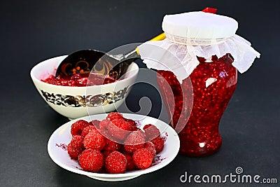 The raspberry jam