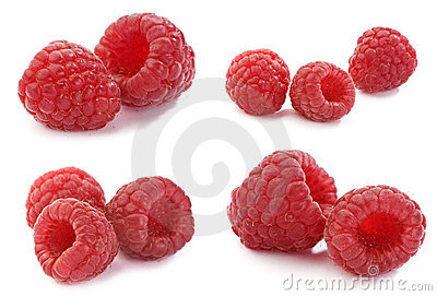 Raspberry, set of full-size images