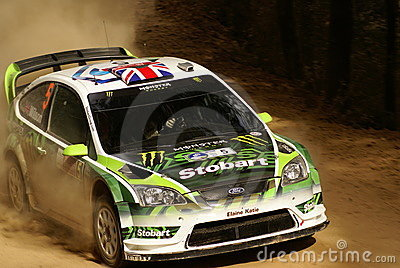 Rassemblement Mexique de corona de WRC WILSON 2010 Photographie éditorial
