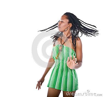 Rastafarian girl