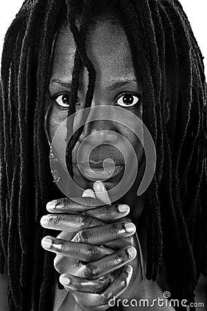 Rastafarian woman