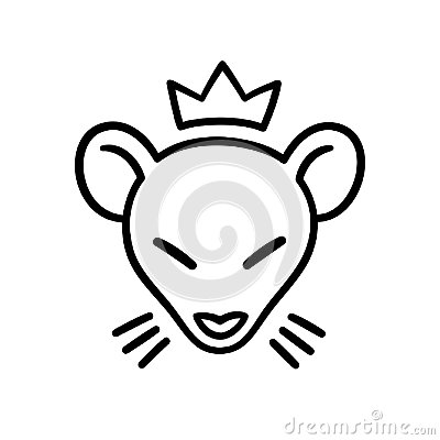 Free Rat King Head Royalty Free Stock Images - 123537049