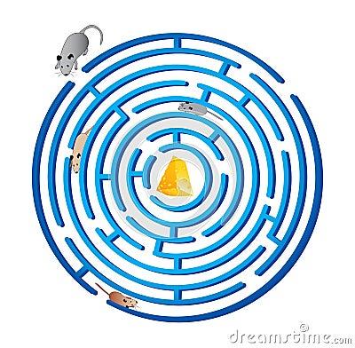 Rat race. maze