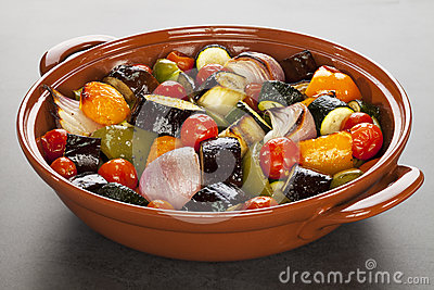Ratatouille Roasted Mediterranean Vegetables