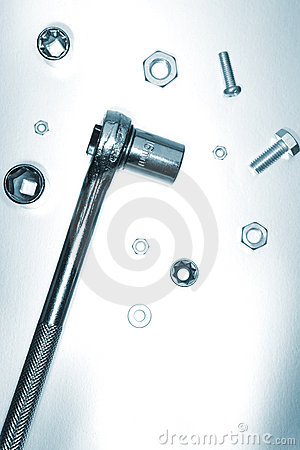 Free Ratchet, Nuts And Bolts Stock Images - 2559204