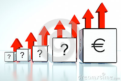 Rate increases in the euro in financial position