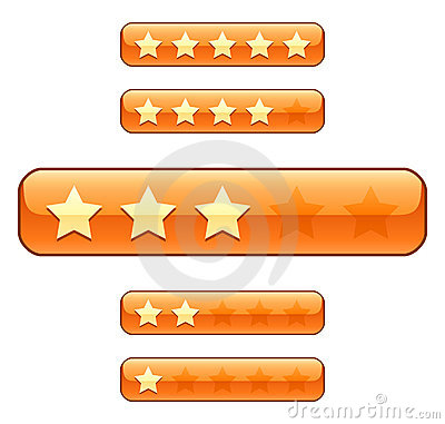 Rating bars with stars
