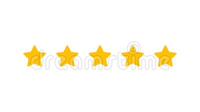 Rating Five Stars Stock Footage Video Of Light Rating 103597750