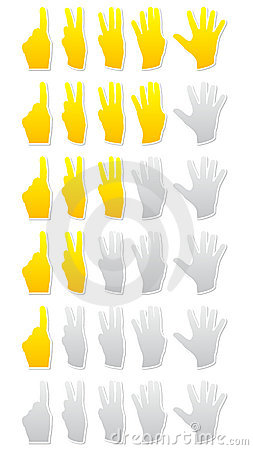 Rating hands