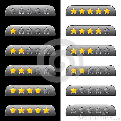 Rating stars for web