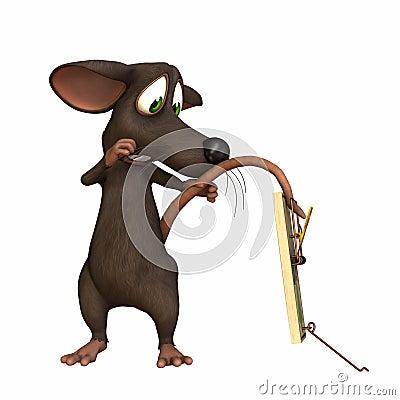 Ratón - cola en desvío