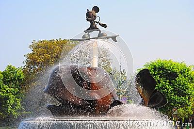 Ratón de Mickey Fotografía editorial