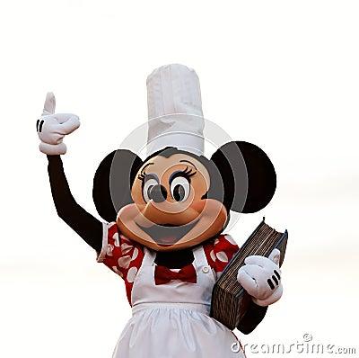 Ratón de Minnie Foto de archivo editorial