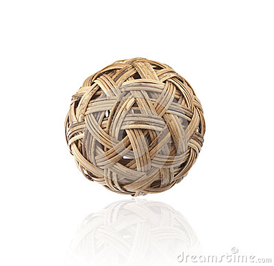 Rattan ball the southeast asia sports
